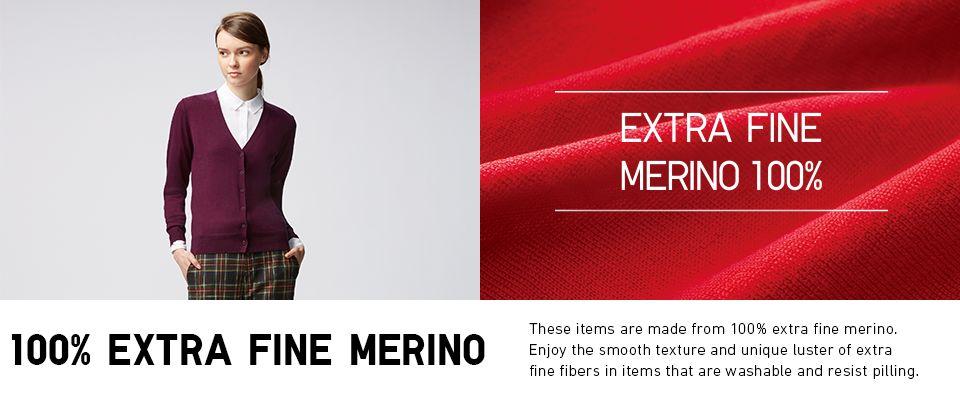 Women's 100% Extra Fine Merino Wool Sweaters