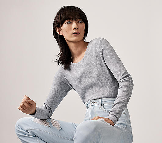 women s t shirts and tops uniqlo us