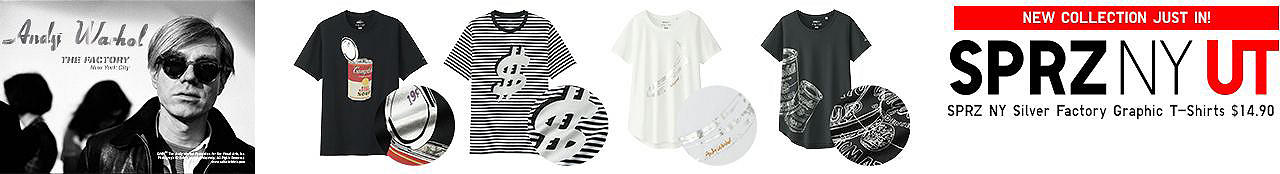 SPRZ NY Silver Factory Graphic T-Shirts
