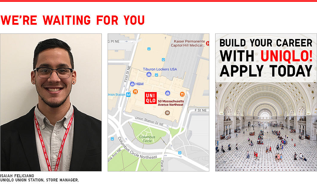 Union Station - Build Your Career With Uniqlo