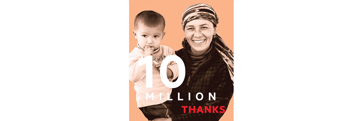 OUR 10 MILLION WAYS CAMPAIGN!