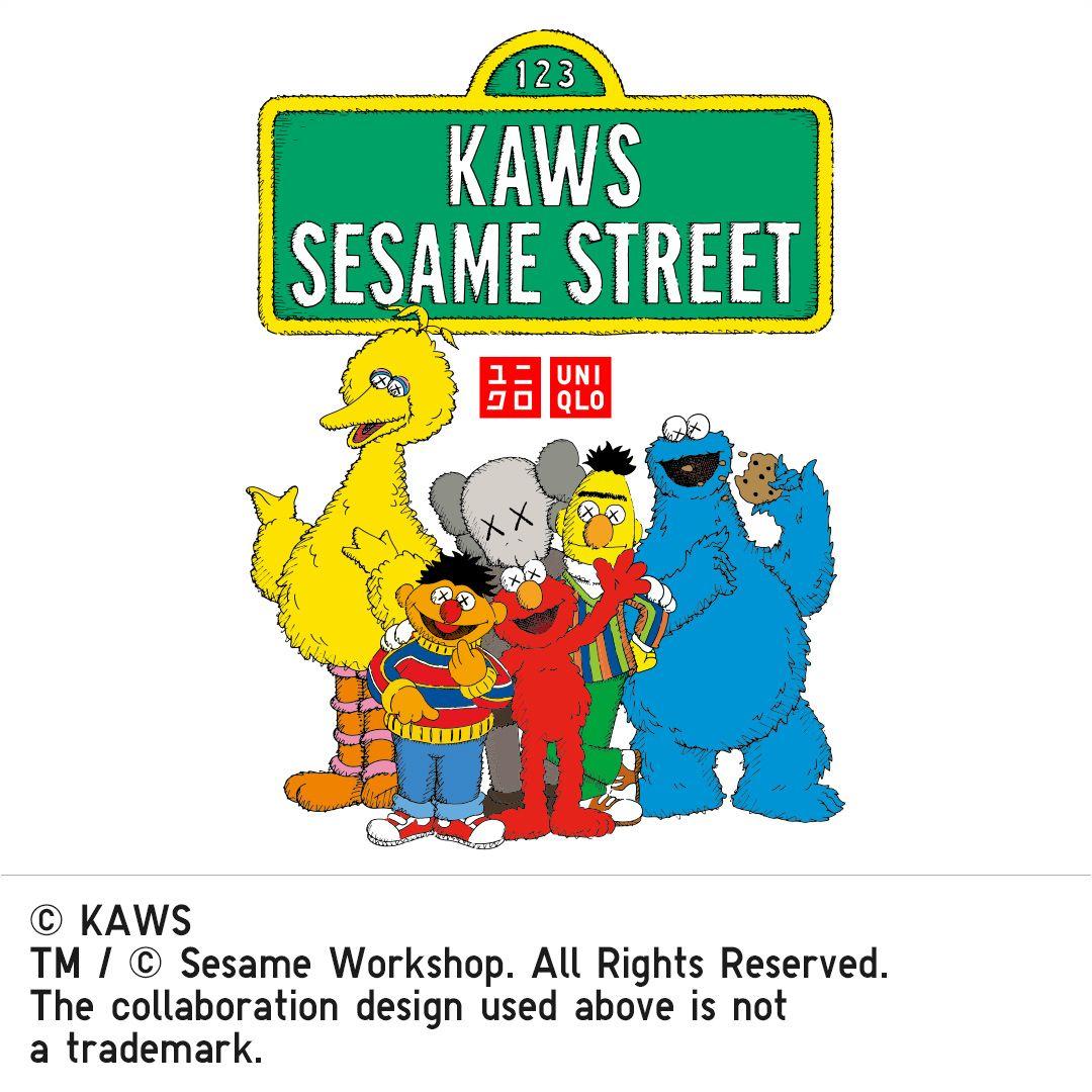 KAWS_x_SESAME_STREET UT Tile