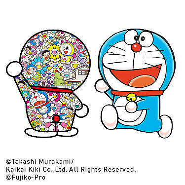 DORAEMON: Features the designs of one of the masters of contemporary art, Takashi Murakami.