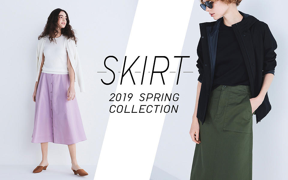 SKIRT 2019 SPRING COLLECTION