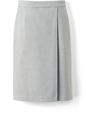 Wrap narrow skirt