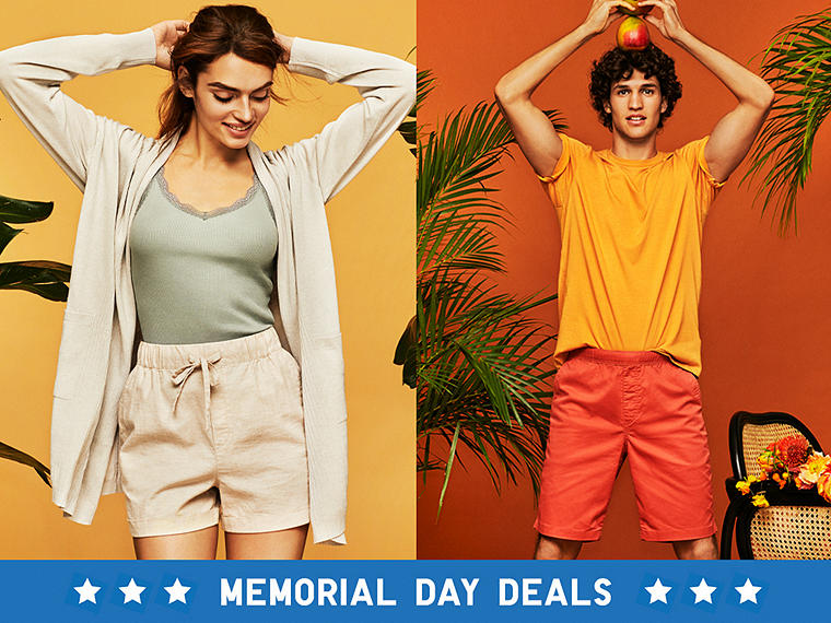 STOCK UP ON SUMMERY SHORTS