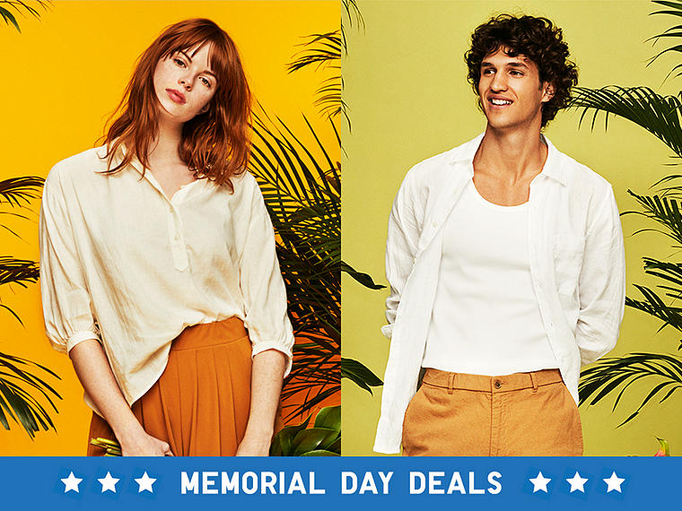 LIVE IN LINEN FOR LESS THIS MEMORIAL DAY