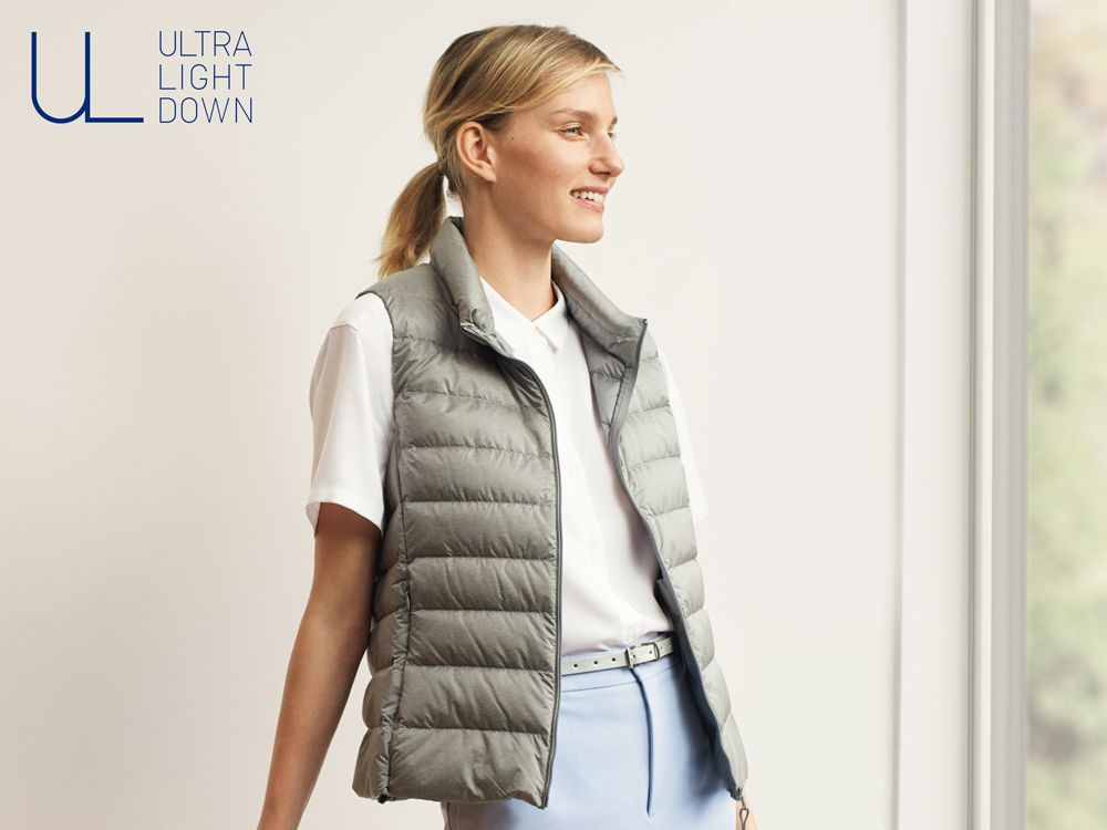 women ultra light down vests