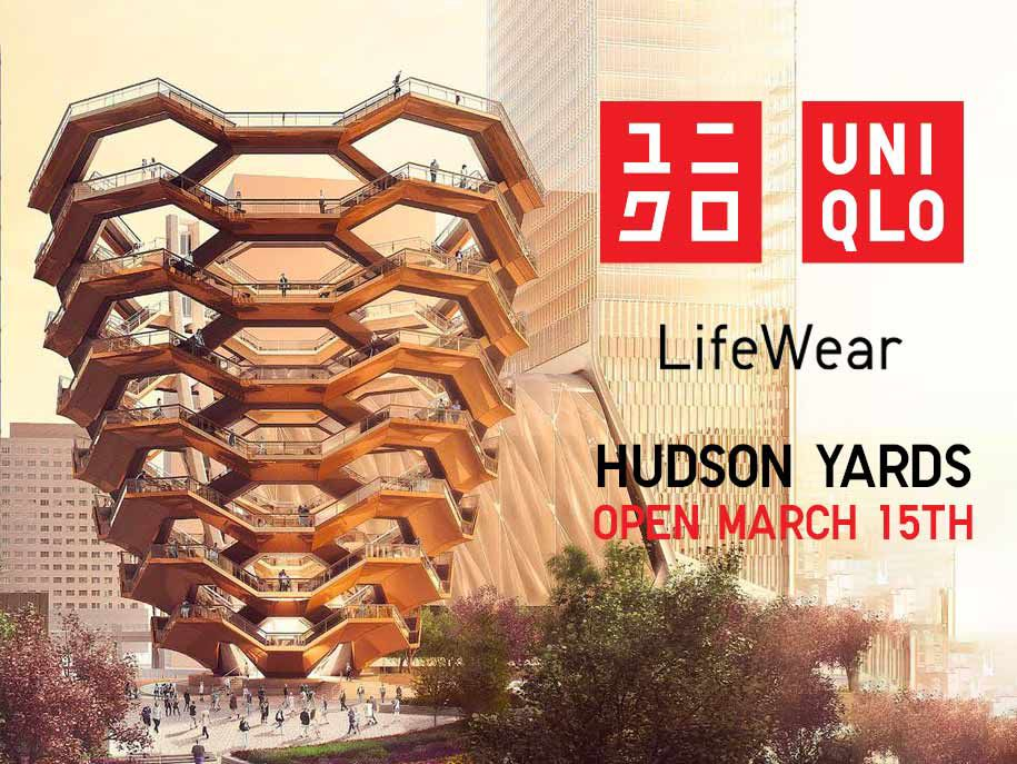 uniqlo hudson yards