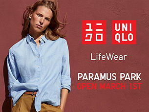 CELEBRATING OUR NEW PARAMUS STORE! OPENS 3/1 9AM