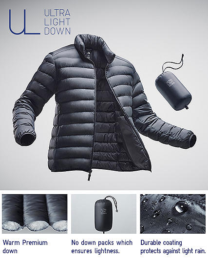 ultra light down jackets
