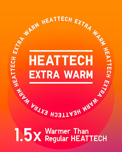 girls' heattech extra warm