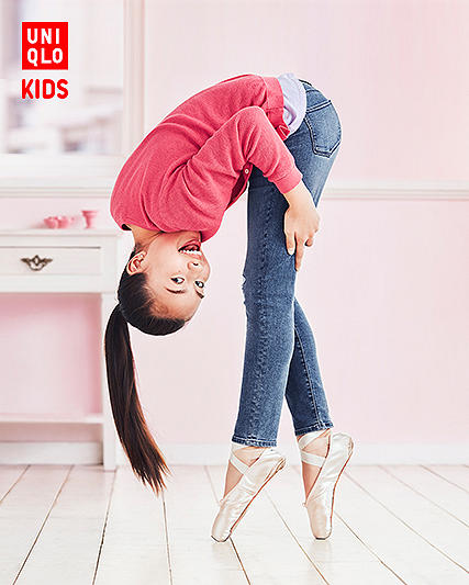 girls' ultra stretch pants