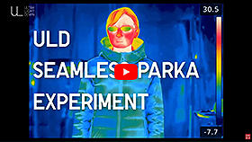 Watch the video to see how our Ultra Light Down Seamless Parka performs.