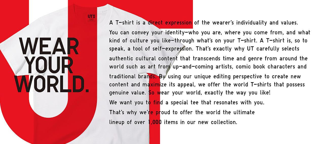 The Uniqlo Ut Graphic Tee Collection Uniqlo Us Uniqlo Us