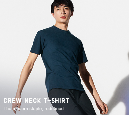 dfed8658b Men's T-Shirts : V Neck, Crew Neck, Long Sleeved & More | UNIQLO