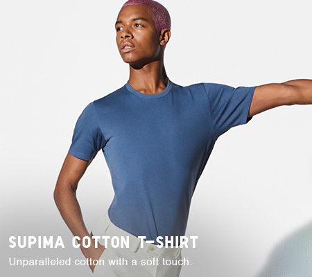5b9aa21f Men's T-Shirts : V Neck, Crew Neck, Long Sleeved & More | UNIQLO