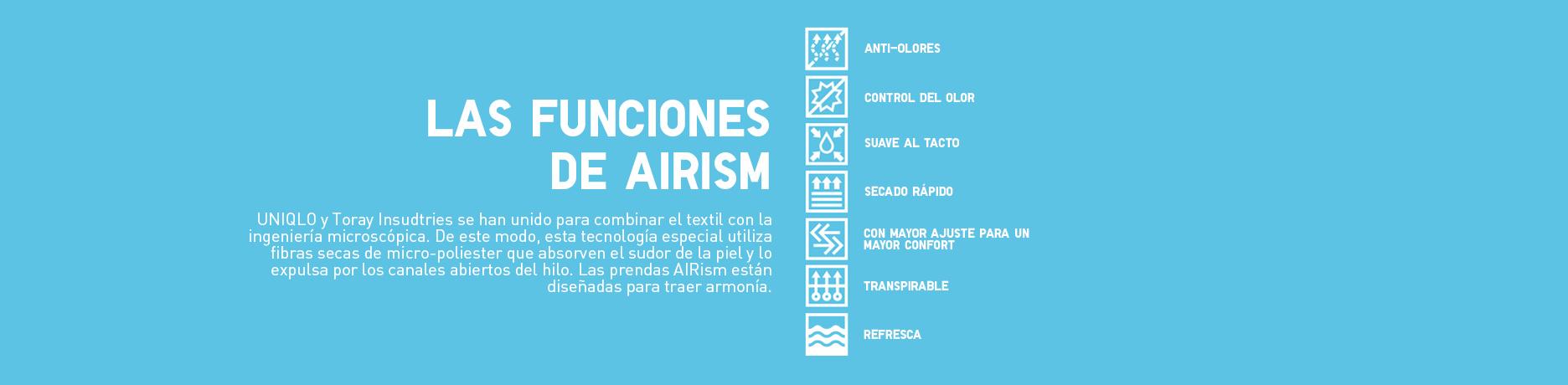 Funciones de AIRism