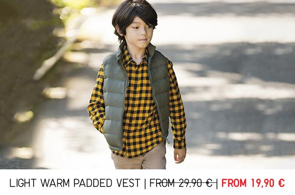 kids padded vest