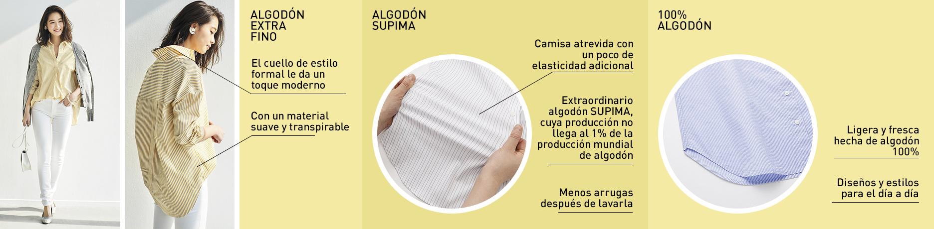 extra de algodón