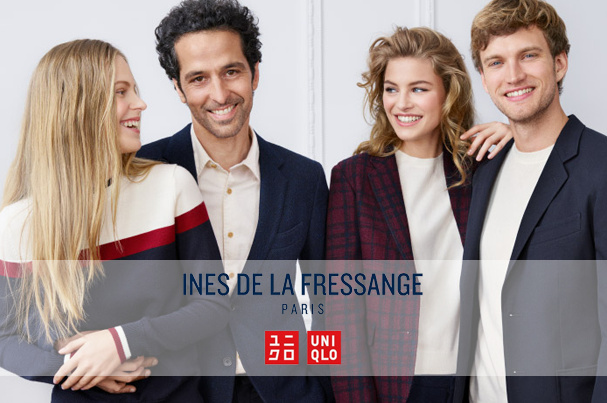 Nouvelle collection INES DE LA FRESSANGE X UNIQLO