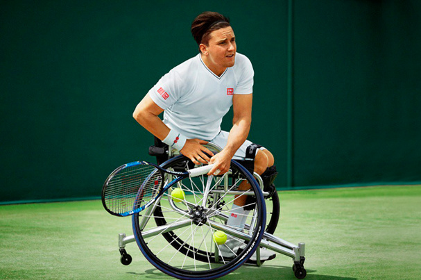 Gordon Reid : Nouvel ambassadeur UNIQLO