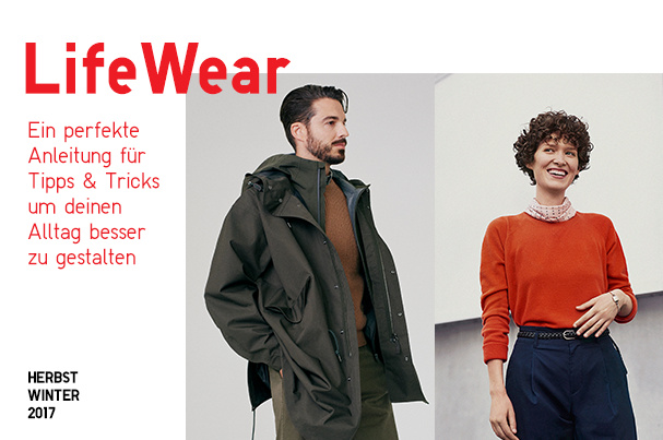 UNIQLO LIFEWEAR HERBST WINTER 2017