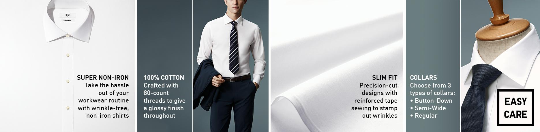 non iron shirts