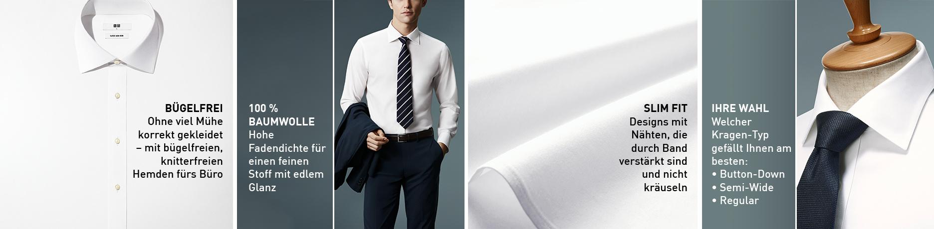 bügelfreie Hemden