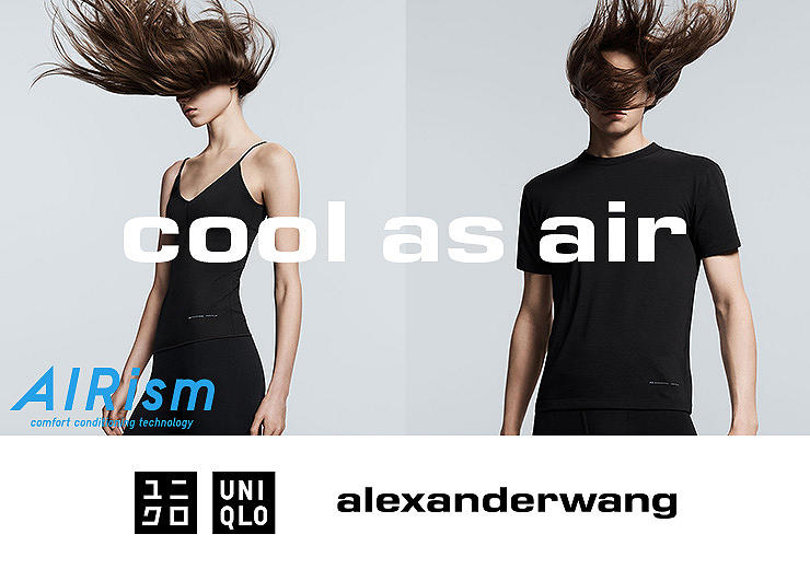 NOW AVAILABLE: UNIQLO AND ALEXANDERWANG SPRING/SUMMER 2019