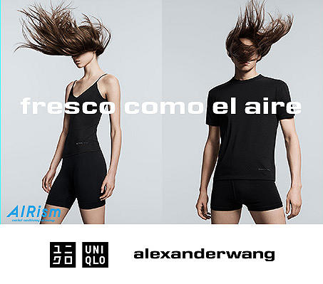 UNIQLO Y alexanderwang: PRIMAVERA-VERANO 2019
