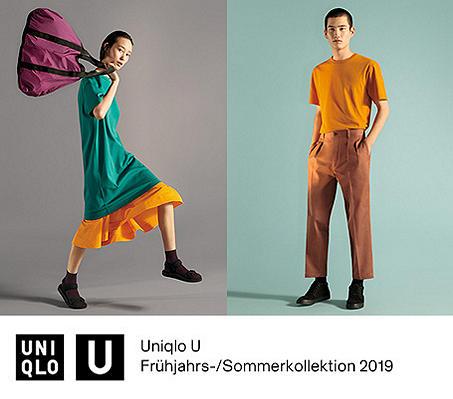 UNIQLO U FRÜHJAHRS-/SOMMERKOLLEKTION 2019
