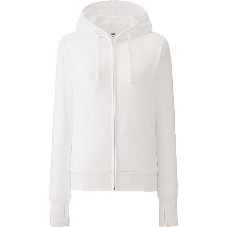 WOMEN UV Cut Long Sleeve Full-Zip Hoodie