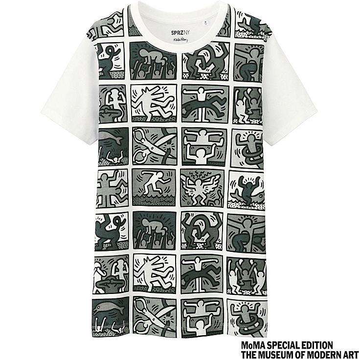 WOMEN SPRZ NY Short Sleeve T-shirt (Keith Haring)