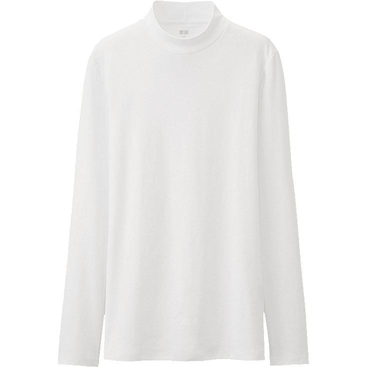WOMEN Supima Cotton High Neck Long Sleeve T