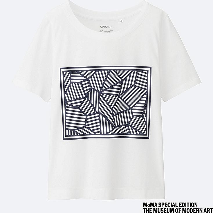 WOMEN SPRZ NY Short Sleeve Graphic T-Shirt (Sol LeWitt)