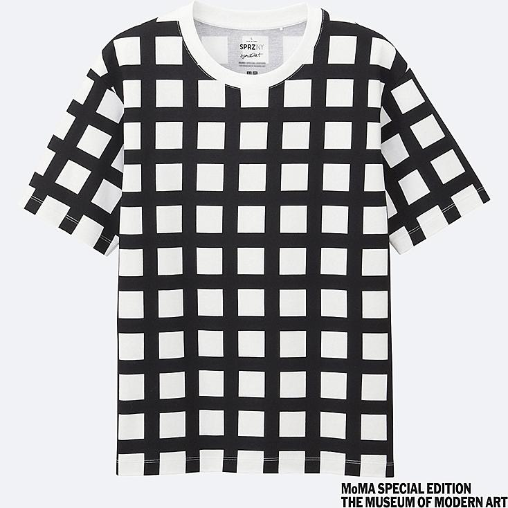 MEN SPRZ NY Short Sleeve Graphic T-Shirt (Francois Morellet)
