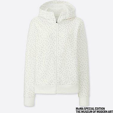 WOMEN SPRZ NY DRY STRETCH SWEAT FULL-ZIP HOODIE (ANNI ALBERS)