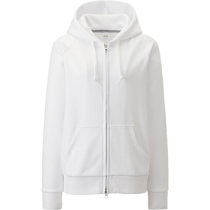 WOMEN Sweat Full-Zip Hooded Jacket
