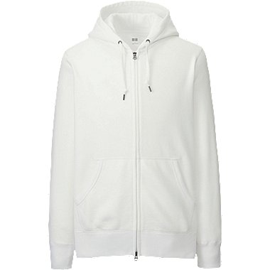 MEN Sweat Long Sleeve Full-Zip Hoodie