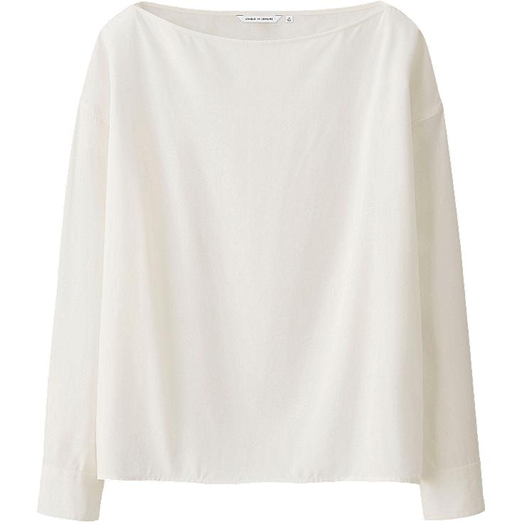 WOMEN LEMAIRE Rayon Long Sleeve T Blouse