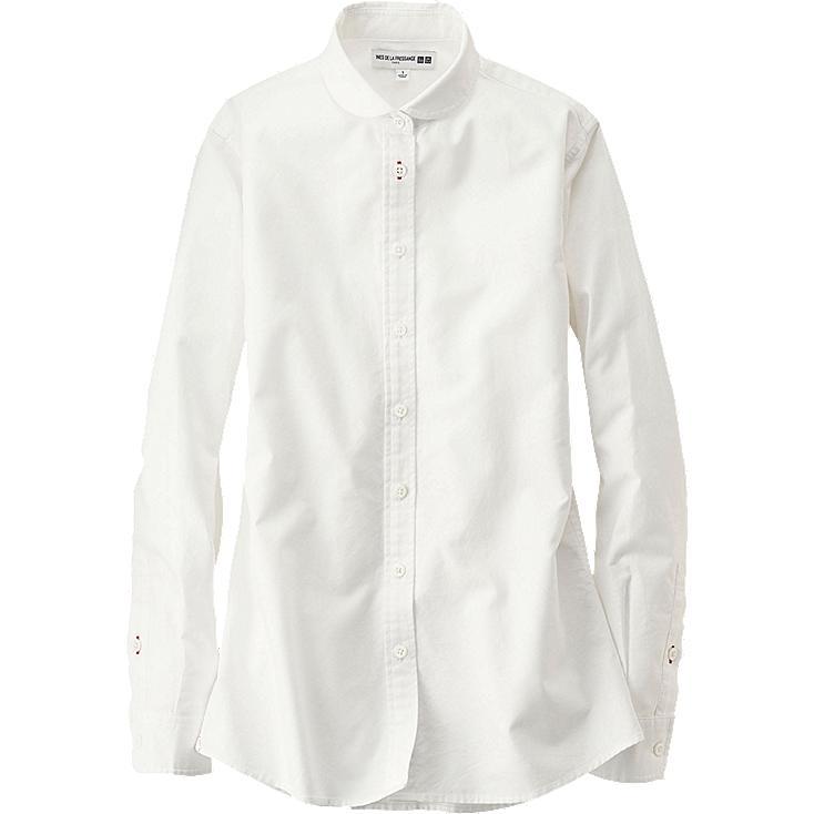 WOMEN Ines Oxford Long Sleeve Shirt