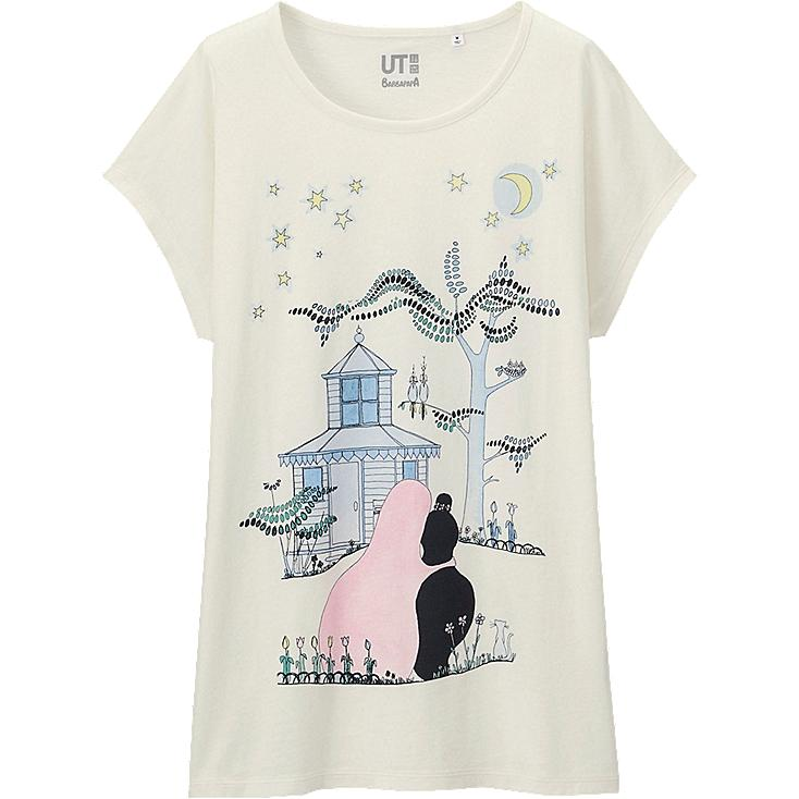 WOMEN Barbapapa Short Sleeve Graphic T-Shirt