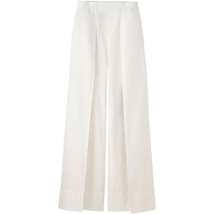 WOMEN LEMAIRE Oxford Wide Leg Trousers