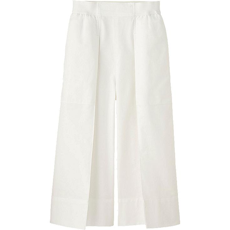 WOMEN LEMAIRE Oxford Culottes Trousers