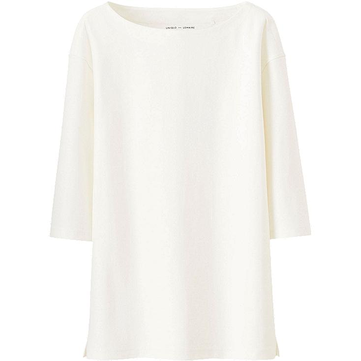 WOMEN LEMAIRE Boat Neck Short Sleeve T-Shirt
