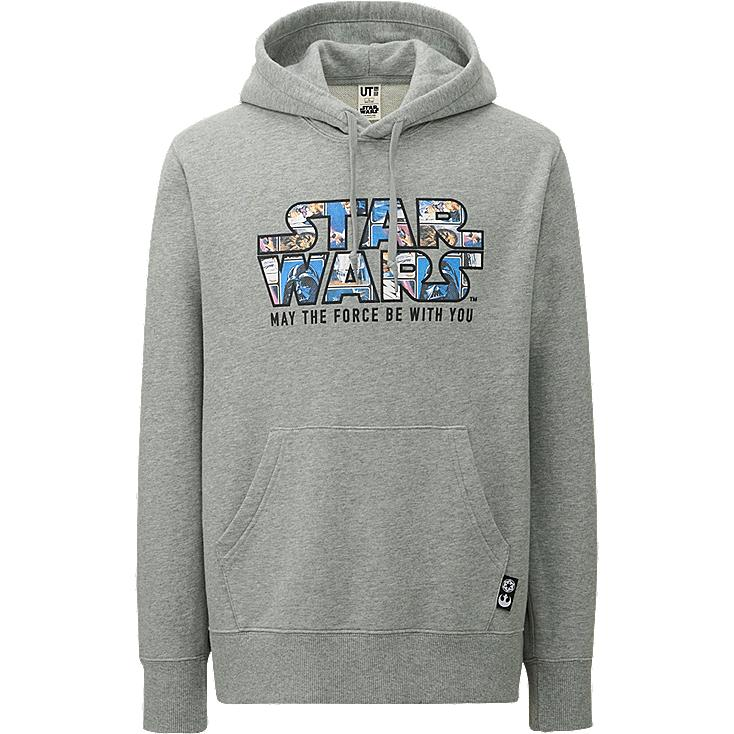 MEN STAR WARS Long Sleeve Sweat Pullover Hoodie
