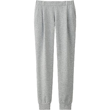 WOMEN AIRism Sweat Ankle Pants