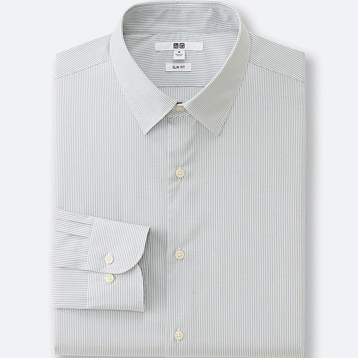 HERREN Easy Care Hemd Slim Fit Drappiert