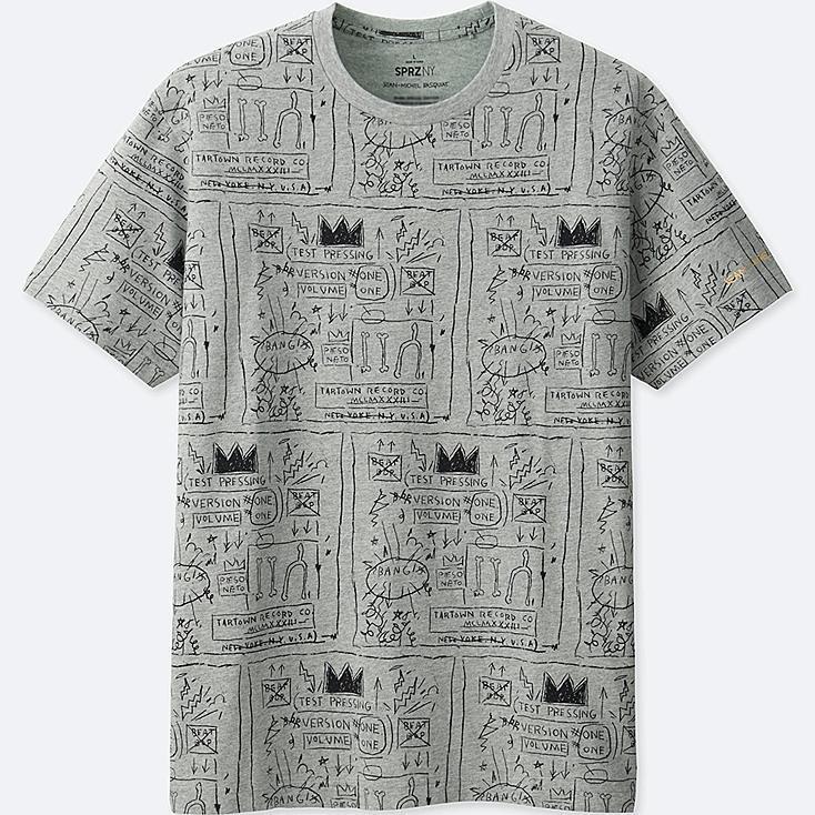 MEN SPRZ NY Short Sleeve Graphic T-Shirt (Jean-Michel Basquiat)